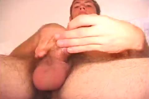 hairy guy Mark Stevens Jerks His fat cock
