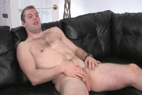 hairy Chested chap Beating his 10-Pounder