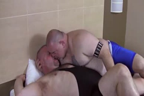 overweight hairy Dads nail Each Other