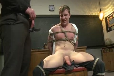 Male Teacher Teaches Male Student About schlong engulfing