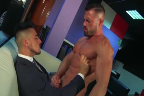 Muscle homosexual ace plow With ejaculation